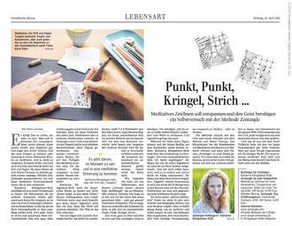 Schwäbische Zeitung Zentangle