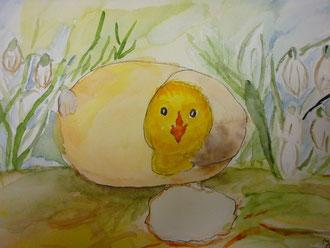 """"""" Da bin ich"""" Ostern 2012"""