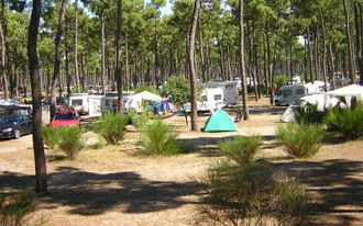 Camping municipal du Gurp commune de Grayan et L'Hôpital