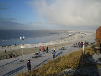 Borkum im Winter
