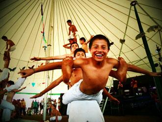 Le «Circo FantazzTico» en tournée en Europe