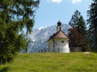 Kapelle am Lautersee (© Foto: Detlef Fachinger)