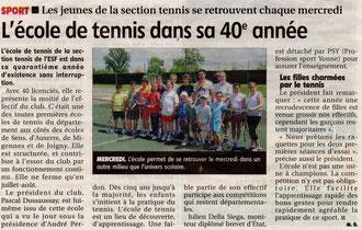 Yonne Républicaine juin 2011