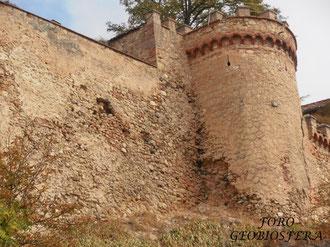 Detalle del estado de la muralla en el cubo 16. (Foto: F. Javier Saez Frayssinet)