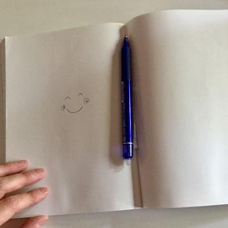 KokuyoのCampusノート無地(青木せい子のモーニングノートに使用)