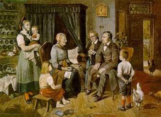 Märchenerzählerin - zeitgenössisches Bild