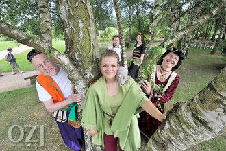 Wir danken dem Organisationsteam des Märchenfests für die Einladung und die tolle Unterstützung. Wir kommen gerne wieder. Foto: oz-online vom 9.07.2012