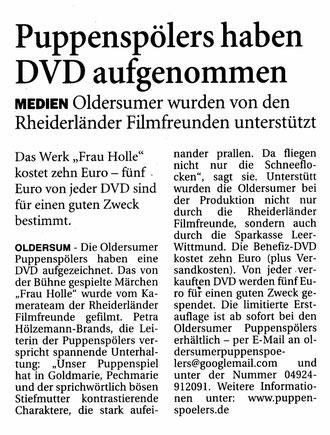 Ostfriesen-Zeitung v. 3.12.2012