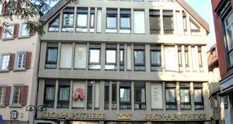 Stuttgart - Bad Cannstatt · Ärztehaus Kron Apotheke