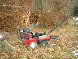 Wurzelstockfräse für Sträucher, Baumpflege Baumschnitt Pflanzung Strunkfräse Stockfräse Holzhacker Henzelmann