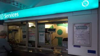 Metro Tickets am Schalter kaufen