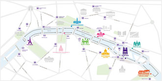 Batobus Paris Karte Haltestellen