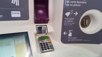 Paris Metro Kartenzahlung