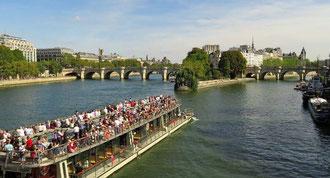Bootsfahrt Paris Bateaux Parisiens