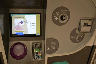 Paris neue Metro Tickets Navigo easy automat kaufen