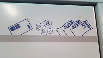 Metro Ticket kaufen mit Bargeld