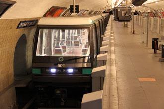 Paris mit Kindern Metro
