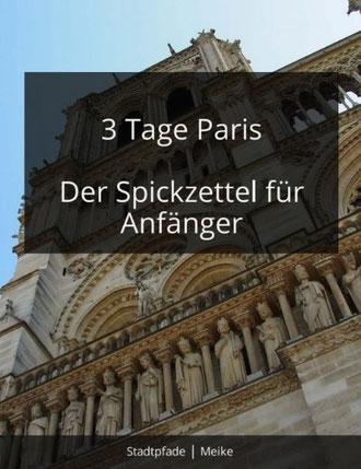 Paris Reiseführer pdf 3 Tage