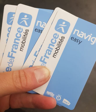 Paris neue Metro Tickets Navigo easy