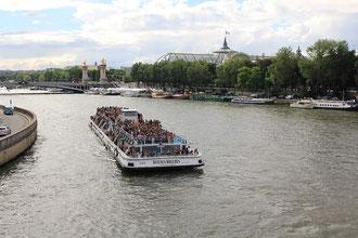 Bootsfahrt Paris Bateaux Mouches