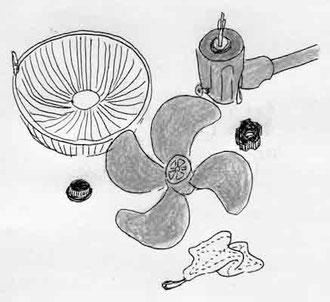 衣替え 扇風機