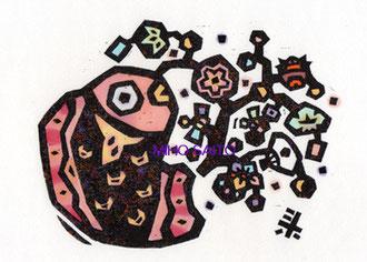 *2013巳年年賀④【おめで鯛付き正月お飾り】