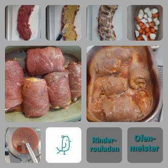 Rinderrouladen aus dem Ofenmeister von Pampered Chef®