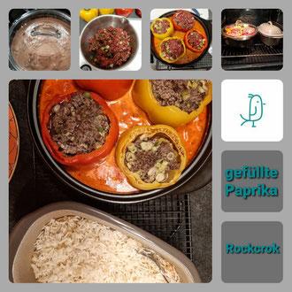 Gefüllte Paprika aus dem Rockcrok® von Pampered Chef®