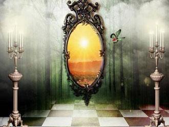 Les miroirs - harmonisation maison - pélerinage bien-être