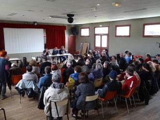 Débat public après la projection du film
