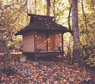 Casa da tè in un giardino giapponese, Wabi-sabi la quintessenza dell' estetica giapponese