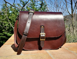 borsa donna marrone scuro