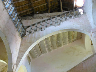 escalier monumental du couvent des carmes