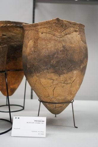 縄文時代前期(BC.4000)の深鉢土器