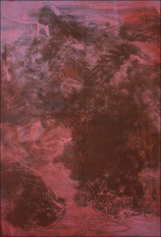 buste,  acrylique sur toile,  116 x 81