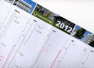 Terminplan der Fernuni Hagen gefüllt
