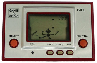 "Game & Watch ""Ball"", 1980, primera portátil de Nintendo"