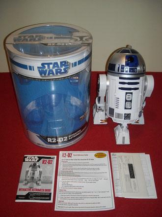 Contenido de la caja del R2-D2