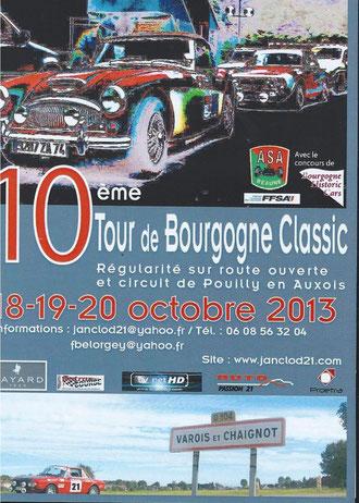 10 ème TOUR DE BOURGOGNE