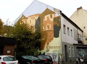 Wandbild Ehrentor