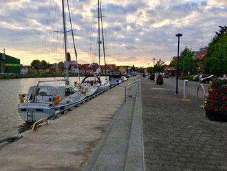 Wolgast Stadthafen