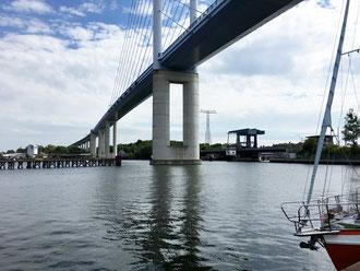 Hochbrücke und Ziegelgrabenbrücke, Rügen