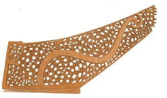 'War canoe prow, tauihu'