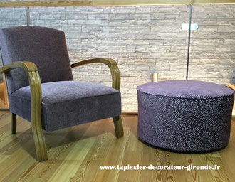 Creation de pouf grande taille