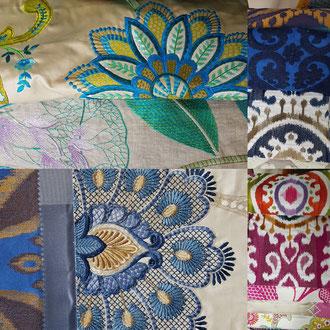 Tissus d'ameublement Casamance proposé par Ambiance tapissier à Cestas à cote de Bordeaux