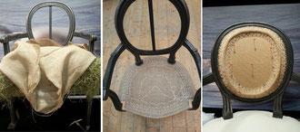 refaire fauteuil avec techniques traditionnelles à cestas, pessac, gradignan, bordeaux