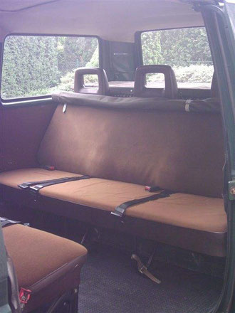 VW T3 Innenraum