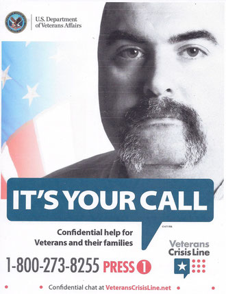 "PW Covington is featured in the VA's National ""Crisis Line"" outreach campaign"