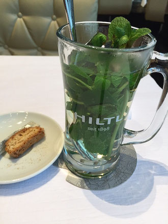 Hiltl Pfefferminz Tee peppermint tea