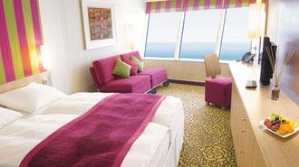 AIDAmar Panorama-Suiten